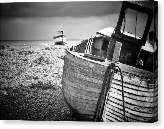 Projekt Desolate Passer By  Canvas Print by Stuart Ellesmere