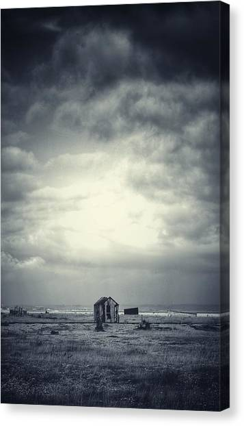 Projekt Desolate The Distance  Canvas Print by Stuart Ellesmere