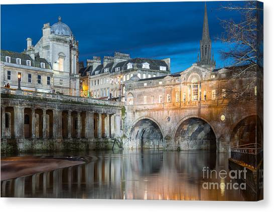 Pulteney Bridge, Bath Canvas Print