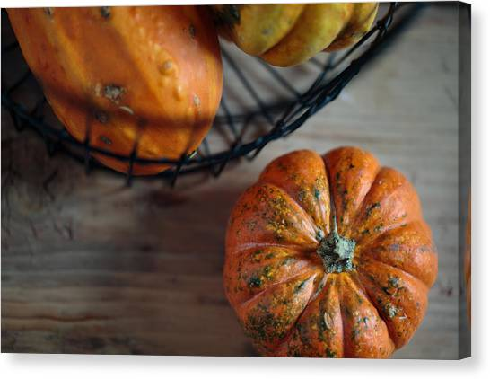 Pumpkins Canvas Print - Pumpkin by Nailia Schwarz