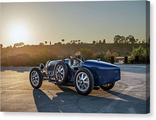 Pur Sang Bugatti Type 35 Canvas Print by Drew Phillips