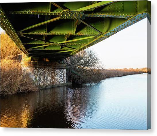 Railway Bridge Canvas Print