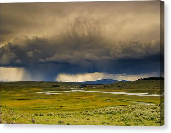 Rain Sky Canvas Print by Patrick  Flynn
