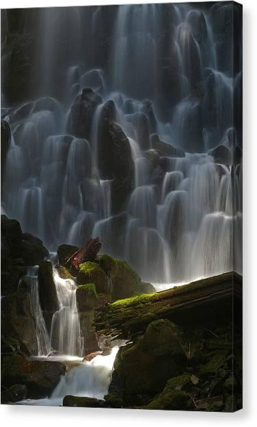 Ramona Falls Oregon Canvas Print
