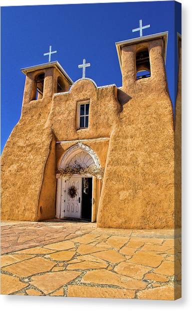 Ranchos De Taos Church  Canvas Print