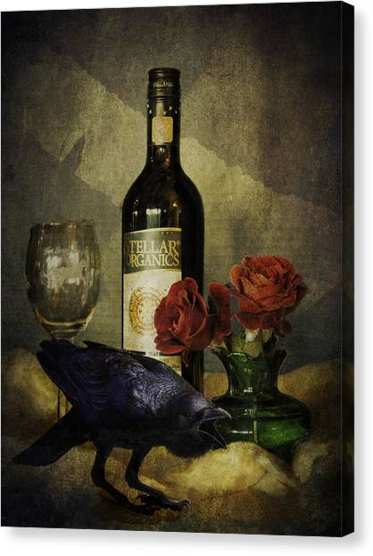 The Ravens Table Canvas Print
