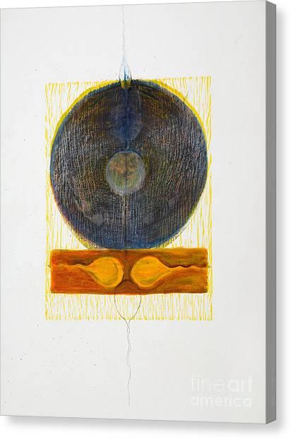 Reciprocal End Canvas Print by Asma Hashmi