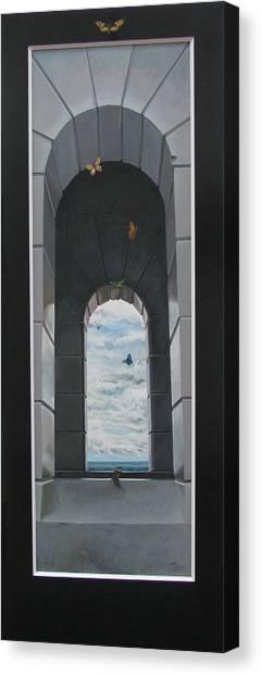 Refuge Angeles Canvas Print by Boris Koodrin