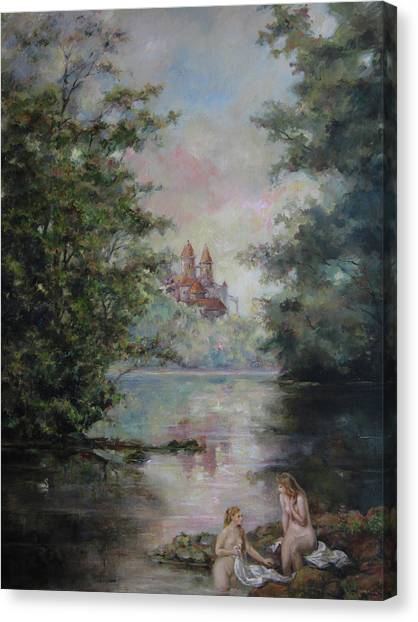Renoir Lives Here Canvas Print