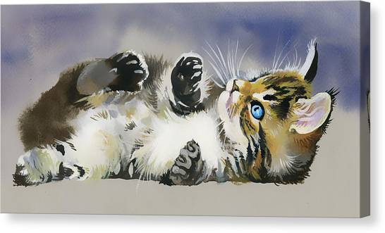 Resting In The Lord Canvas Print