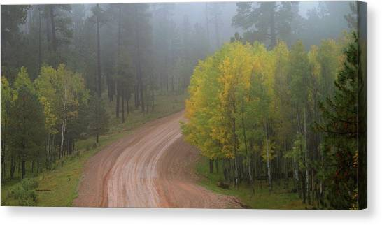 Rim Road Canvas Print