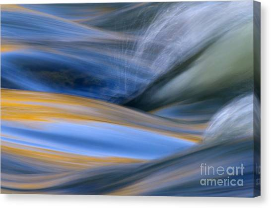 River Canvas Print - River by Silke Magino