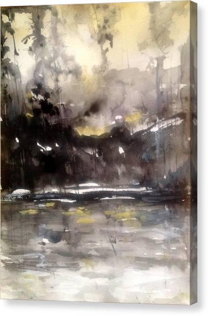 Rivers Of Light Series  Canvas Print