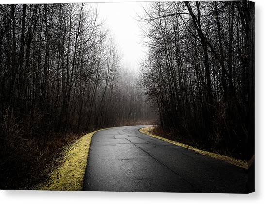 Roads To Nowhere Canvas Print