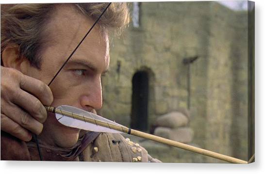 Flutes Canvas Print - Robin Hood Prince Of Thieves by Super Lovely