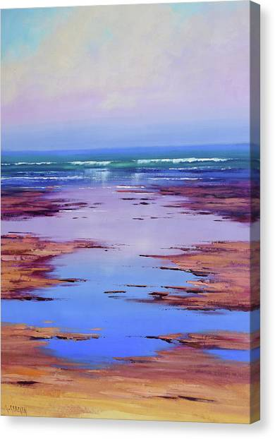 Beautiful Nature Canvas Print - Rocky Shoreline by Graham Gercken