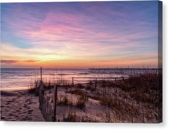 Rodanthe Sunrise Canvas Print