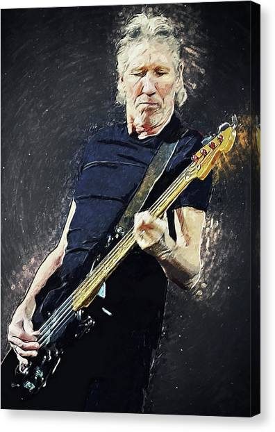 Pink Floyd Canvas Print - Roger Waters by Zapista