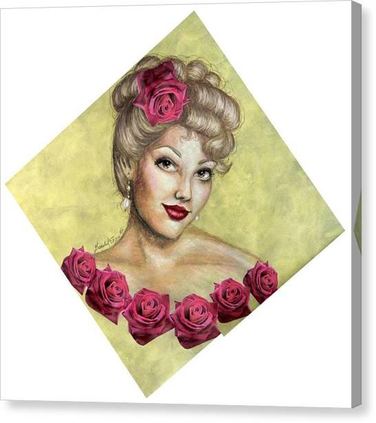 Rose Canvas Print by Scarlett Royal