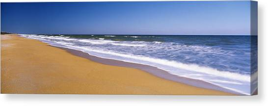 Flagler Beach Canvas Print - Route A1a, Atlantic Ocean, Flagler by Panoramic Images