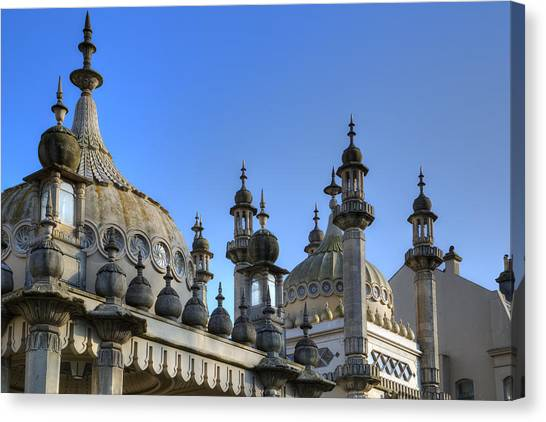 Indo Canvas Print - Royal Pavilion Brighton by Joana Kruse