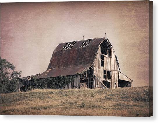 Rustic Canvas Print - Rustic Barn by Tom Mc Nemar