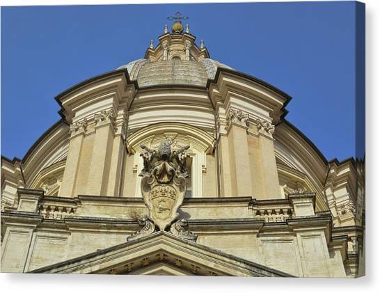 Saint Agnes Dome Canvas Print by JAMART Photography