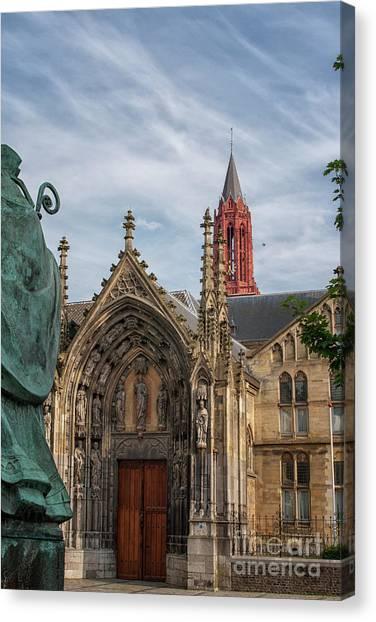 Maastricht Canvas Print - Saint Servaes And Saint Johns by Patricia Hofmeester