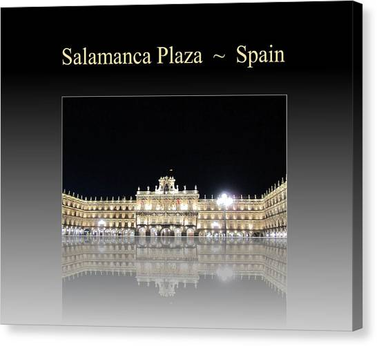 Salamanca Plaza Spain Canvas Print