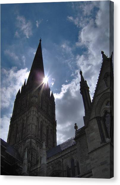 Salisbury Sunburst Canvas Print