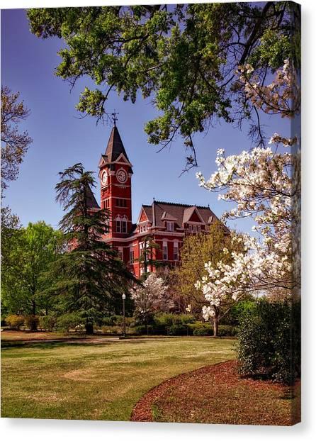 Auburn University Canvas Print - Samford Hall - Auburn University by Mountain Dreams