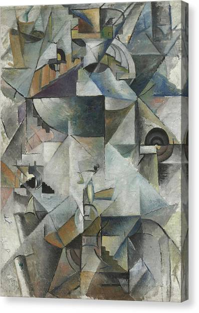 Suprematism Canvas Print - Samovar by Kazimir Malevich