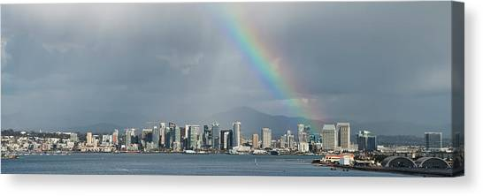 Canvas Print featuring the photograph San Diego by Dan McGeorge