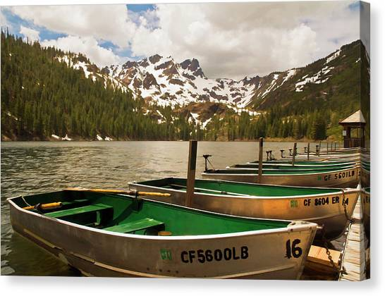 Sardine Lake Canvas Print