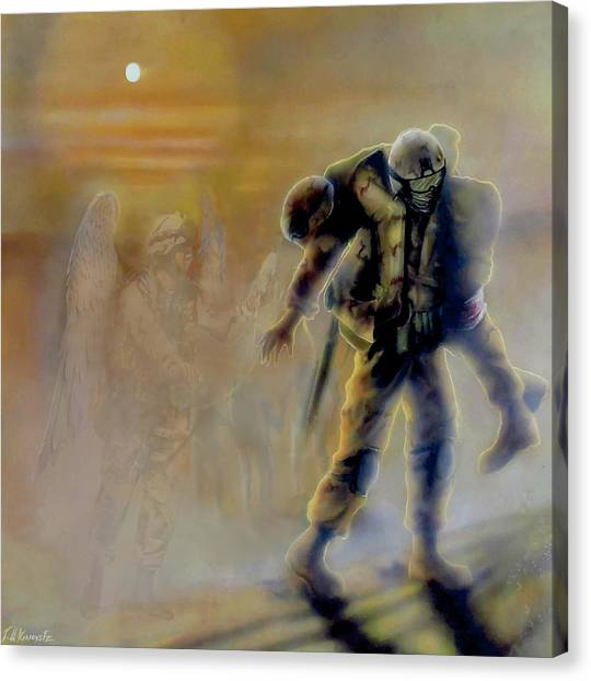 Todd Krasovetz Canvas Print - Savior In A Storm by Todd Krasovetz
