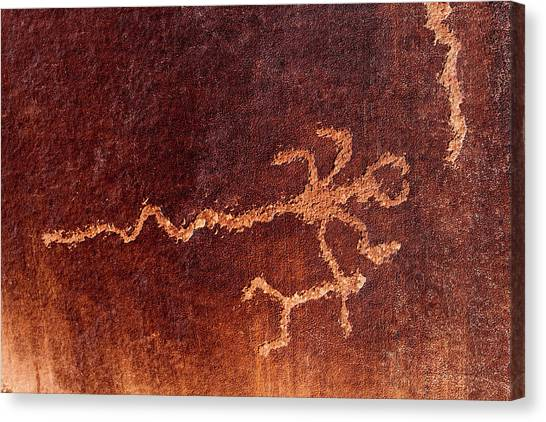 Canvas Print - Scorpion Glyph by Russell Wilson