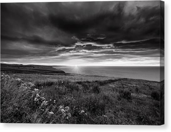 Scottish Sunrise Canvas Print