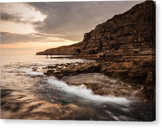 Seacombe Bay Canvas Print