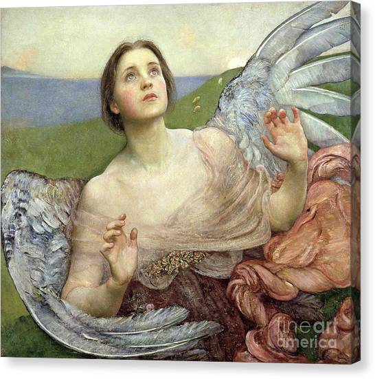 Angel Canvas Print - Sense Of Sight by Annie Louisa Swinnerton