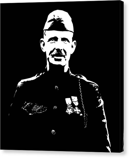 Wwi Canvas Print - Sergeant Alvin York Graphic by War Is Hell Store