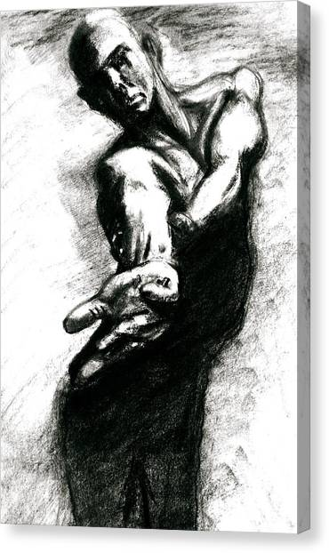 Shadow Dancer Canvas Print by Dan Earle