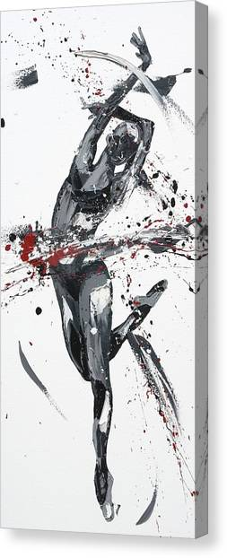 Kinetic Canvas Print - Shadow by Penny Warden