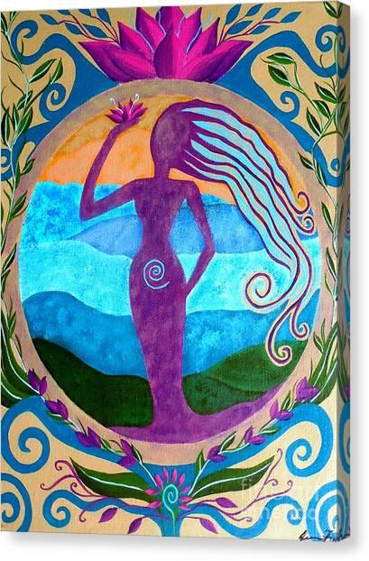 She Heals Canvas Print