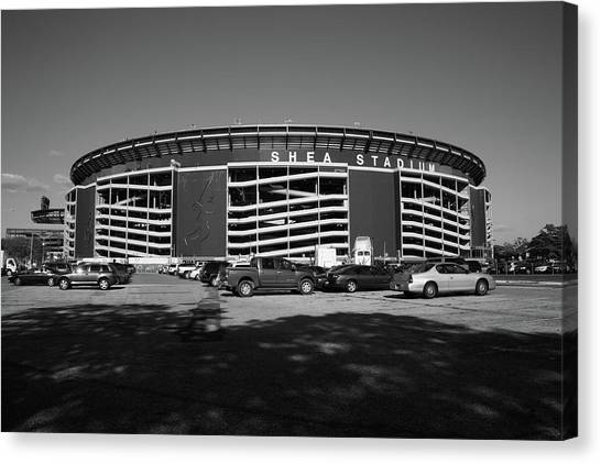 Shea Stadium - New York Mets Canvas Print