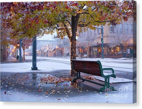 Sherman Snow Canvas Print