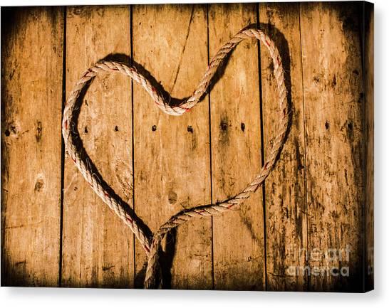Heart Shape Canvas Print - Ship Shape Heart  by Jorgo Photography - Wall Art Gallery