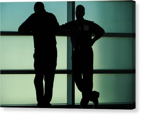 Silhouettes Canvas Print by Pepsi Freund