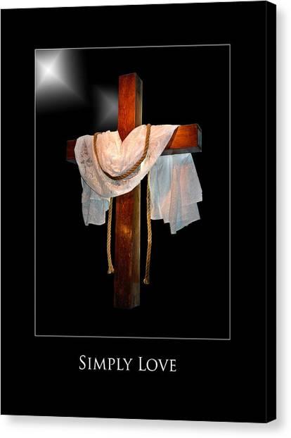 Simply Love Canvas Print by Richard Gordon