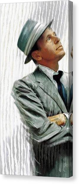 Sinatra Canvas Print by James Robinson