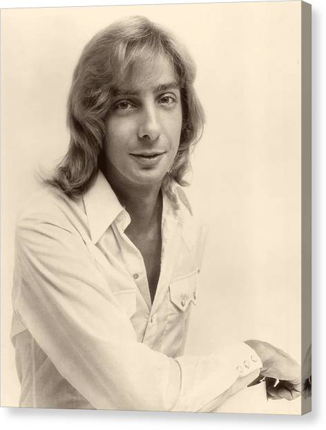 Singer Barry Manilow 1975 Canvas Print